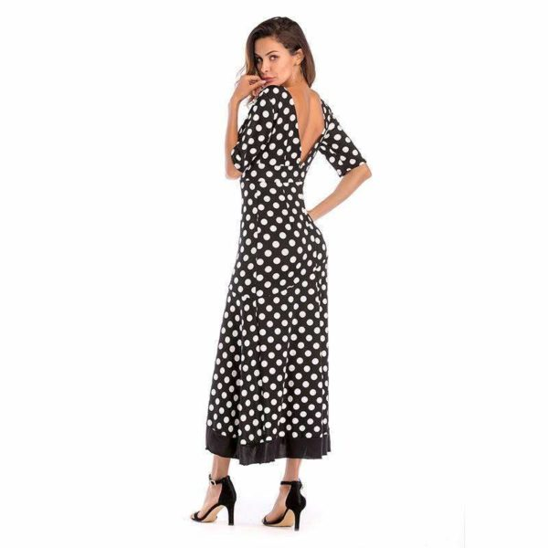 Naomi Polka Dot Dress - Lyndaz