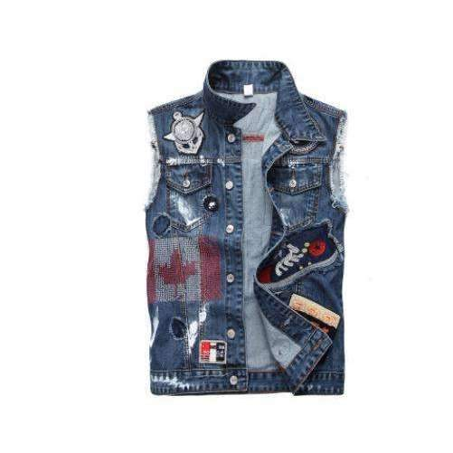 Grayson Denim Vests - Lyndaz