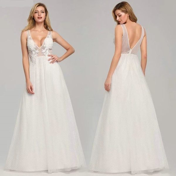 Belinda Tulle Wedding Dress - Lyndaz
