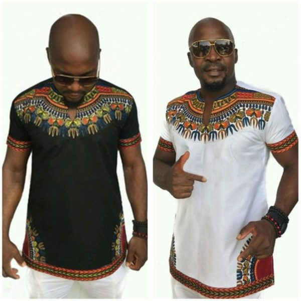 Howard Dashiki T Shirt - Lyndaz