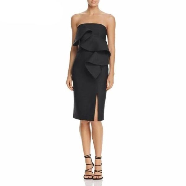 Bianca Ruffles Dress - Lyndaz