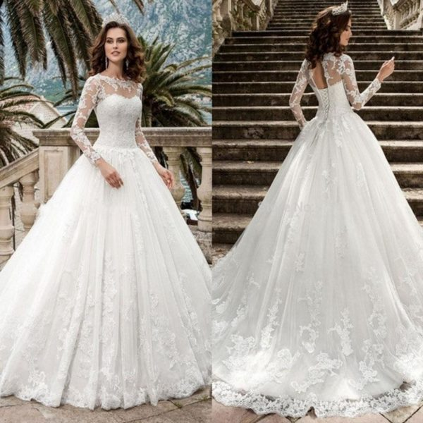 Rosa Wedding Dress - Lyndaz