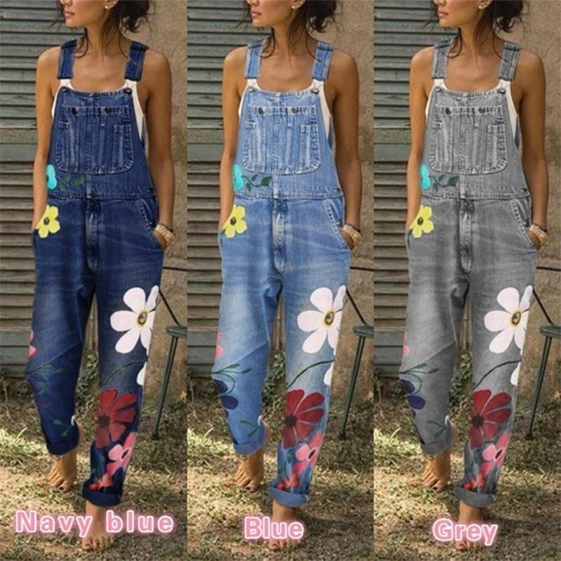 Yvette Denim Jumpsuits - Lyndaz