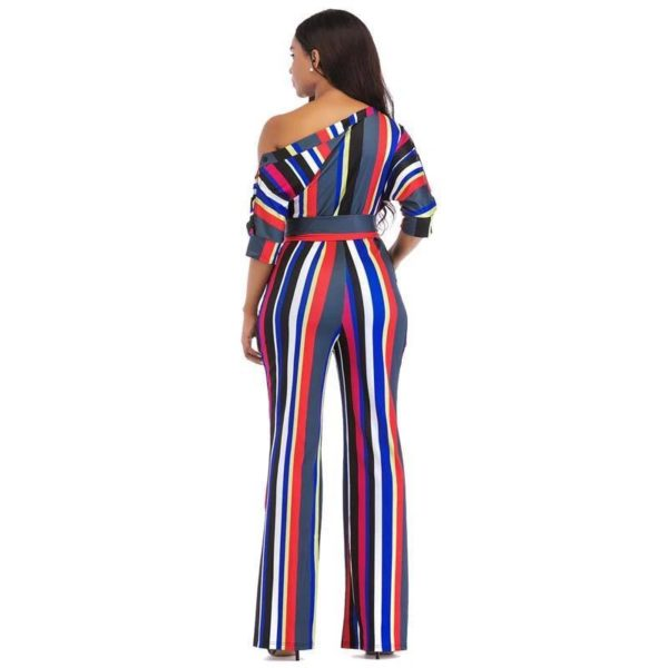 Stacey One Shoulder Jumpsuits - Lyndaz