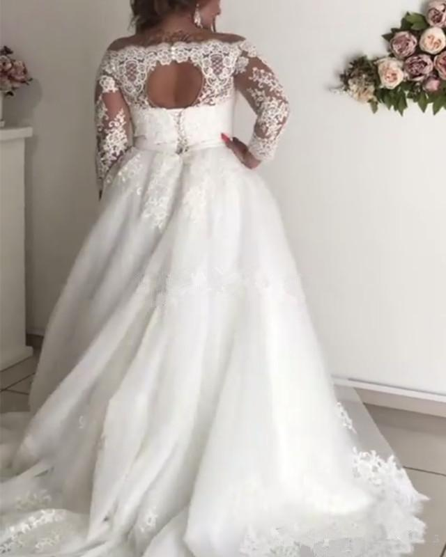 Tulip  Plus Size Wedding Dress - Lyndaz