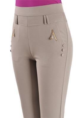 Andrea High Waist Stretch Pants - Lyndaz
