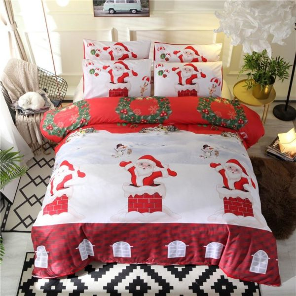 Bennette Christmas Quilt Cover Sets - Lyndaz