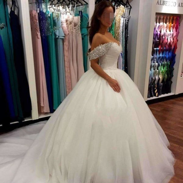 Clementine Bridal Ball Gown - Lyndaz