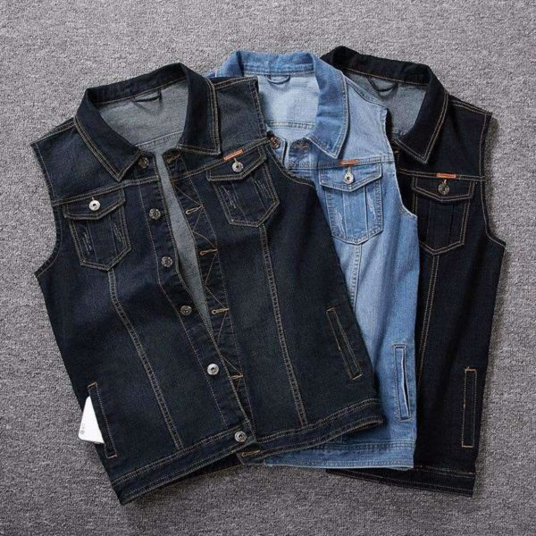 Sawyer Denim Vests - Lyndaz