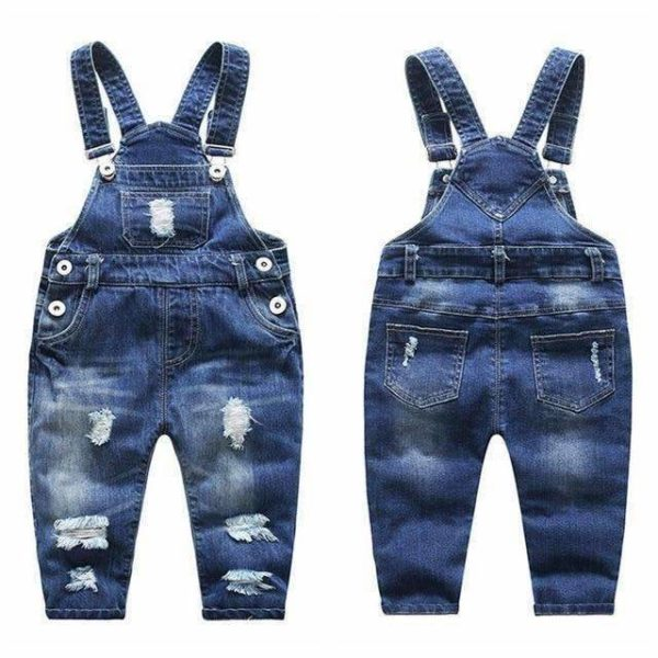 Riley Denim Overalls - Lyndaz