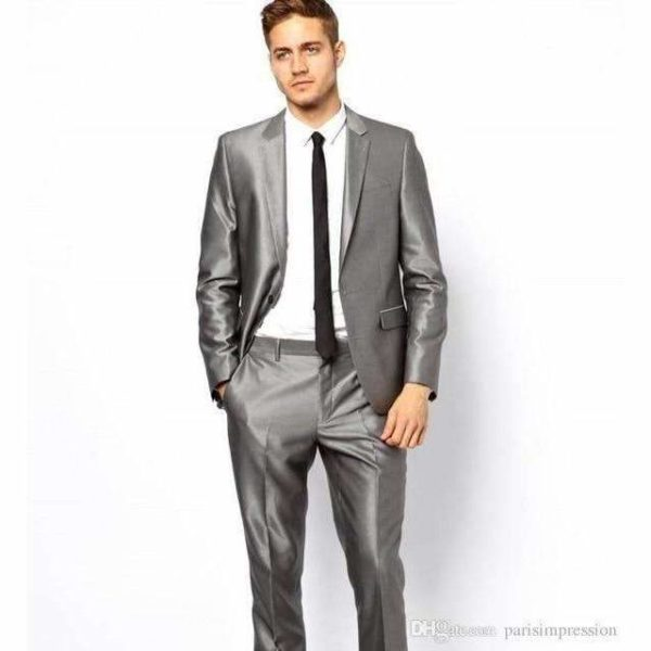 Jerome Black Lapel Suit - Lyndaz