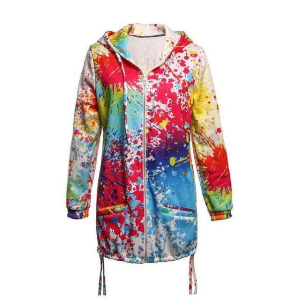 Audrey Multicoloured Jacket - Lyndaz